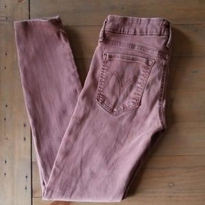 Mother | The Looker rust brown skinny jean sz 27